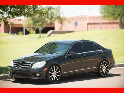 used 2010 Mercedes-Benz C-Class car, priced at $13,988