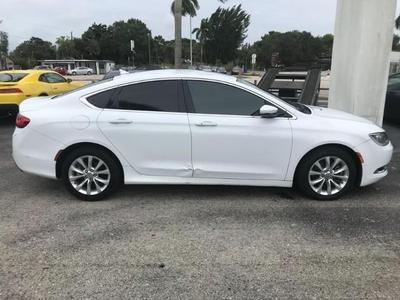 used 2015 Chrysler 200 car, priced at $9,700