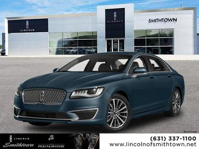 new 2018 Lincoln MKZ Hybrid car, priced at $45,990