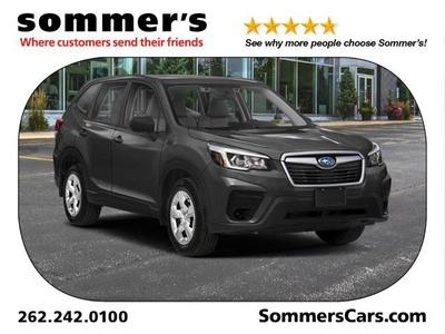new 2021 Subaru Forester car, priced at $29,857