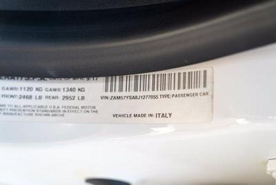 used 2018 Maserati Ghibli car, priced at $47,990