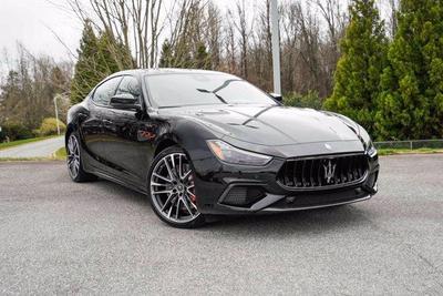 new 2021 Maserati Ghibli car, priced at $117,885