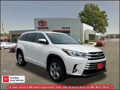 used 2017 Toyota Highlander car, priced at $36,995