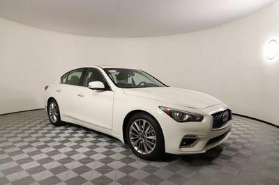 new 2021 INFINITI Q50 car, priced at $45,450