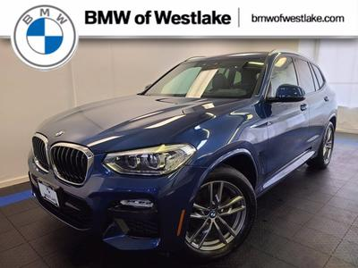 used 2019 BMW X3 car, priced at $45,995