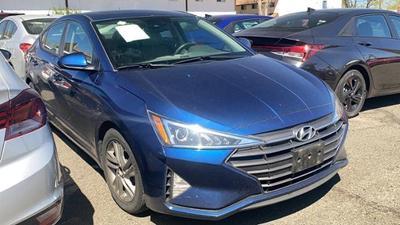 used 2019 Hyundai Elantra car, priced at $14,977