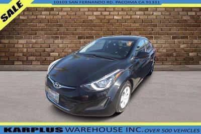 used 2016 Hyundai Elantra car, priced at $7,598