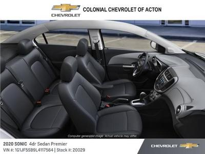 new 2020 Chevrolet Sonic car, priced at $19,595