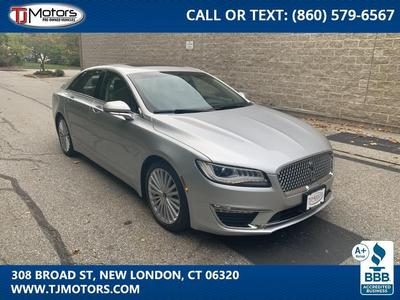 used 2017 Lincoln MKZ car, priced at $25,988