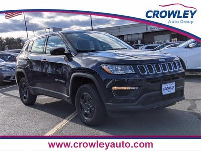 new 2021 Jeep Compass car, priced at $21,334