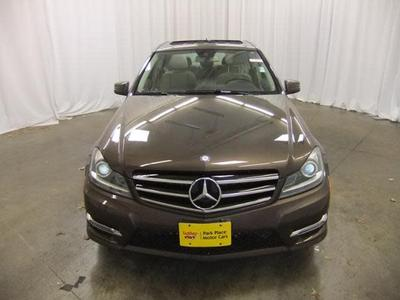 used 2014 Mercedes-Benz C-Class car, priced at $27,498