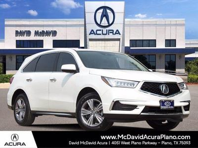 new 2020 Acura MDX car, priced at $44,084
