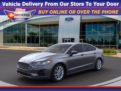 new 2020 Ford Fusion Hybrid car, priced at $24,646