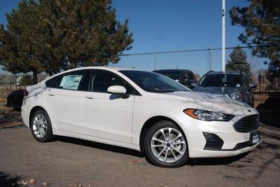 new 2020 Ford Fusion Hybrid car, priced at $25,152
