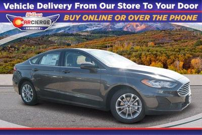 new 2020 Ford Fusion Hybrid car, priced at $25,577