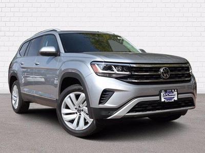 new 2021 Volkswagen Atlas car, priced at $49,720