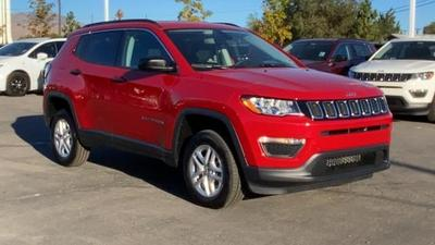 new 2021 Jeep Compass car, priced at $24,160