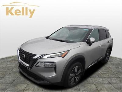 new 2021 Nissan Rogue car, priced at $34,730