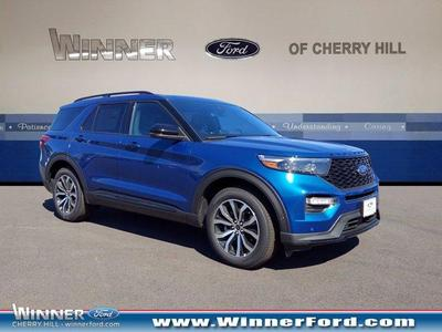 new 2020 Ford Explorer car, priced at $52,866