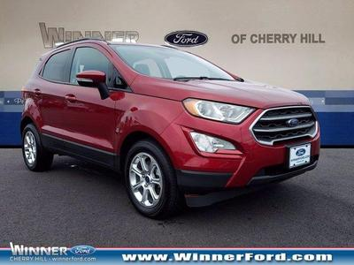 new 2020 Ford EcoSport car, priced at $20,923