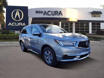 new 2020 Acura MDX car