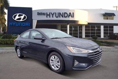new 2020 Hyundai Elantra car