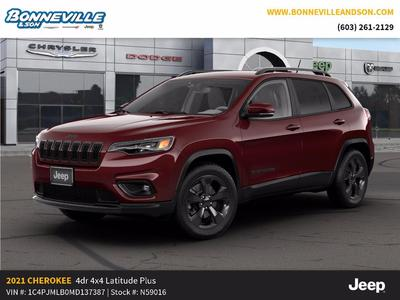 new 2021 Jeep Cherokee car, priced at $30,671