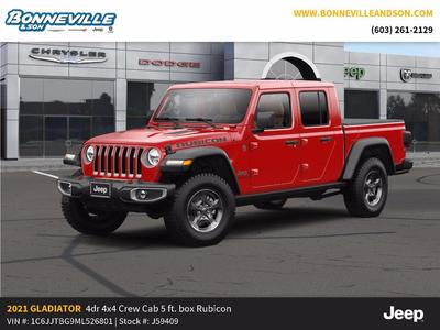 new 2021 Jeep Gladiator car, priced at $60,555