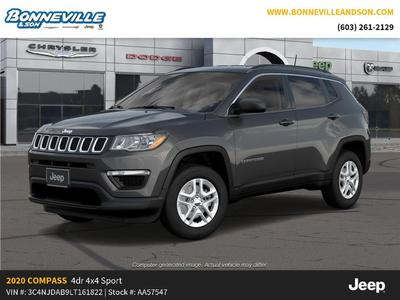 new 2020 Jeep Compass car, priced at $30,602