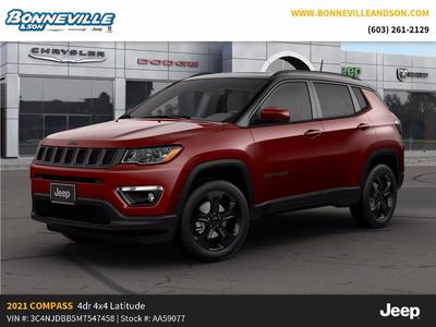 new 2021 Jeep Compass car, priced at $31,258