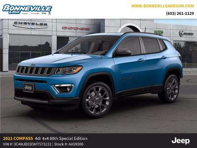 new 2021 Jeep Compass car, priced at $32,794