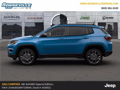 new 2021 Jeep Compass car, priced at $32,264
