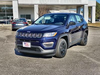new 2021 Jeep Compass car, priced at $19,822