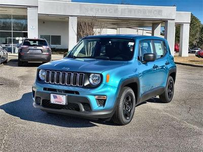 new 2021 Jeep Renegade car, priced at $19,593