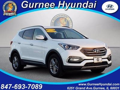 new 2018 Hyundai Santa Fe Sport car, priced at $24,706