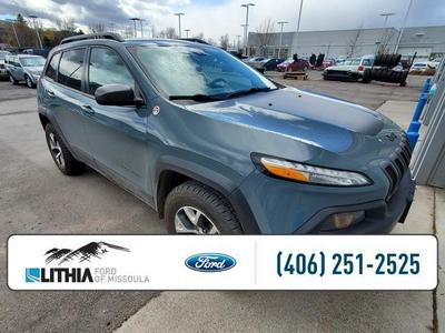used 2014 Jeep Cherokee car, priced at $21,995