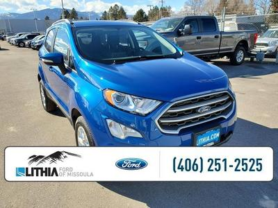new 2021 Ford EcoSport car, priced at $23,682