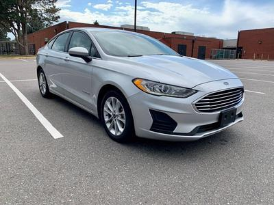 used 2019 Ford Fusion Hybrid car, priced at $13,997
