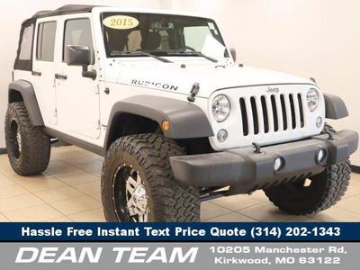 used 2015 Jeep Wrangler Unlimited car, priced at $42,950
