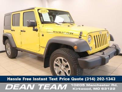 used 2015 Jeep Wrangler Unlimited car, priced at $38,950