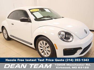 used 2018 Volkswagen Beetle car, priced at $17,950