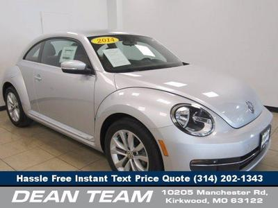 used 2014 Volkswagen Beetle car, priced at $18,950