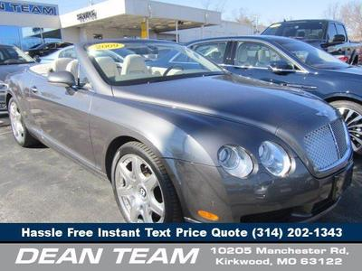 used 2009 Bentley Continental GTC car, priced at $69,950