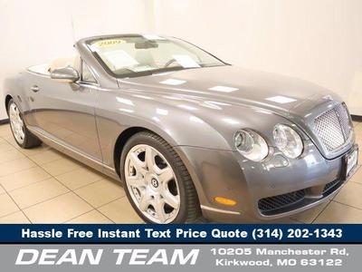used 2009 Bentley Continental GTC car, priced at $64,950
