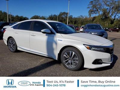 new 2021 Honda Accord Hybrid car, priced at $31,972