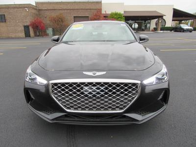 new 2019 Genesis G70 car, priced at $43,085