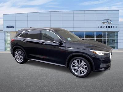 new 2021 INFINITI QX50 car, priced at $52,160