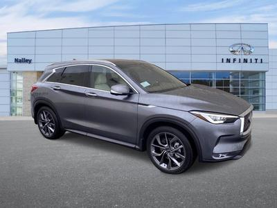 new 2021 INFINITI QX50 car, priced at $58,360