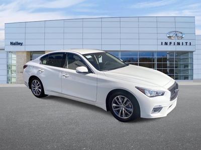 new 2021 INFINITI Q50 car, priced at $38,315