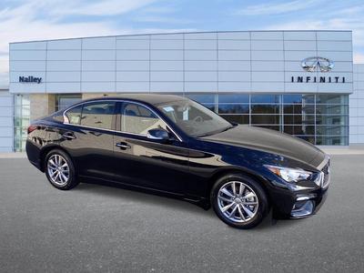 new 2021 INFINITI Q50 car, priced at $38,120